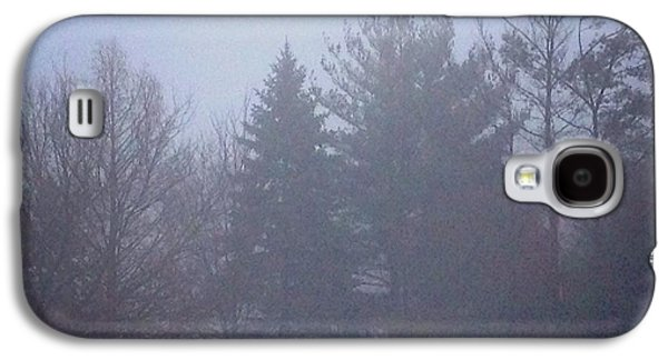 Contemplative Photographs Galaxy S4 Cases - Fog and Mist Galaxy S4 Case by Frank J Casella