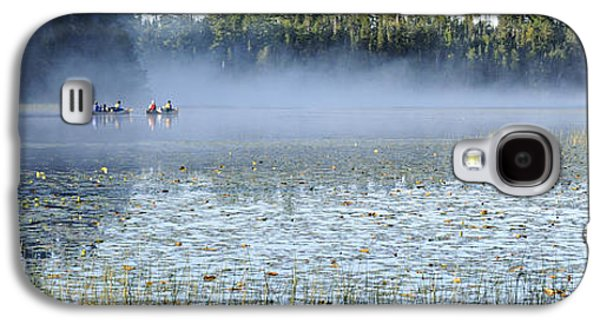 Bwcaw Galaxy S4 Cases - Fog at Lake One Galaxy S4 Case by Larry Ricker