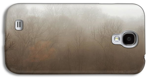 Fog Riverside Park Galaxy S4 Case by Scott Norris