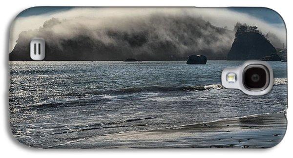 Foggy Beach Galaxy S4 Cases - Fog Rush Galaxy S4 Case by Adam Jewell