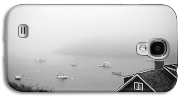 Midcoast Galaxy S4 Cases - Foggy Manana in Black and White  Galaxy S4 Case by Jean Macaluso