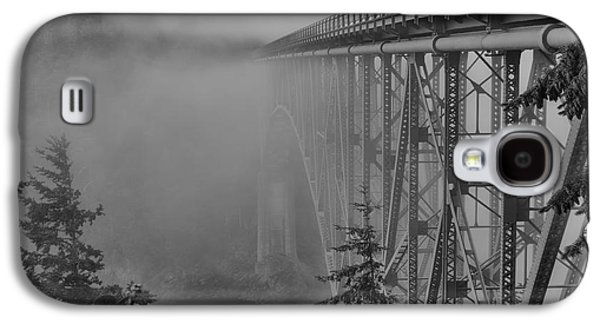 Jeff Swanson Galaxy S4 Cases - Foggy Morning Galaxy S4 Case by Jeff Swanson
