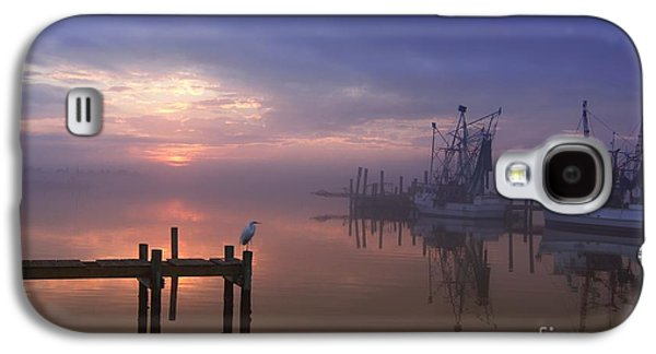 Foggy Sunset Over Swansboro Galaxy S4 Case by Benanne Stiens