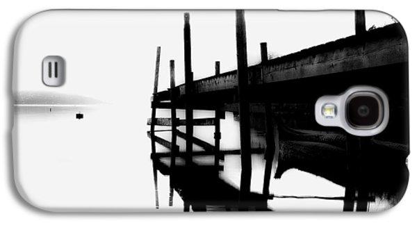 Foggy Ocean Galaxy S4 Cases - Foggy View Galaxy S4 Case by Erik Brede