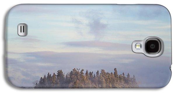 Fog Mist Galaxy S4 Cases - Fogscape Galaxy S4 Case by Evelina Kremsdorf