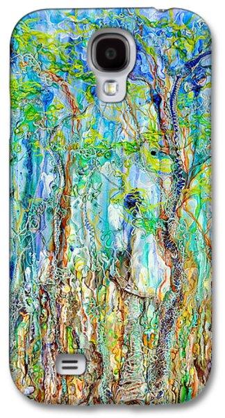 Surreal Landscape Reliefs Galaxy S4 Cases - Foliage melody Galaxy S4 Case by Regina Valluzzi