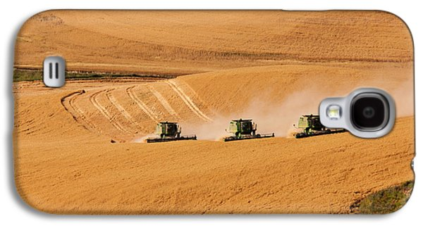 Machinery Galaxy S4 Cases - Follow The Leader Galaxy S4 Case by Mary Jo Allen