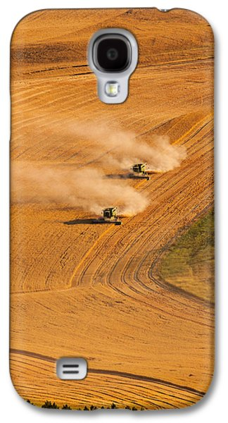 Machinery Galaxy S4 Cases - Following Galaxy S4 Case by Mary Jo Allen