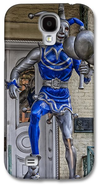 Art Mobile Galaxy S4 Cases - Folly Statue at the Mardi Gras Museum - Mobile Alabama Galaxy S4 Case by Mountain Dreams