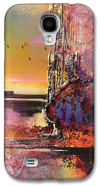 Abstract Landscape Digital Art Galaxy S4 Cases - Fondry  Galaxy S4 Case by Francoise Dugourd-Caput