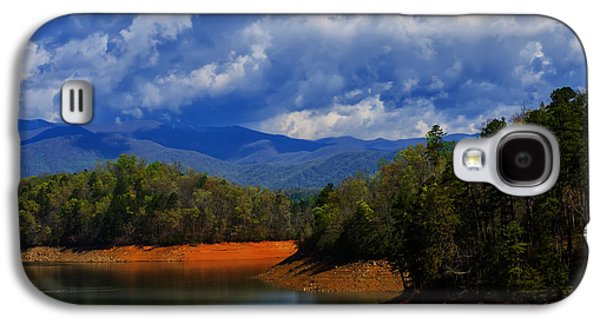 Landscape Posters Galaxy S4 Cases - Fontana lake storm Galaxy S4 Case by Chris Flees