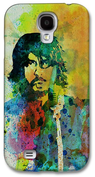 Rock Paintings Galaxy S4 Cases - Foo Fighters Galaxy S4 Case by Naxart Studio