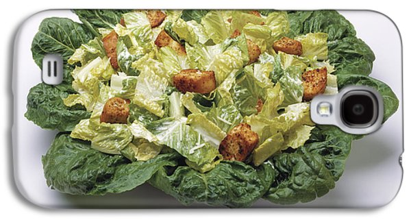 Romaine Galaxy S4 Cases - Food - Caesar Salad Prepared Galaxy S4 Case by Ed Young
