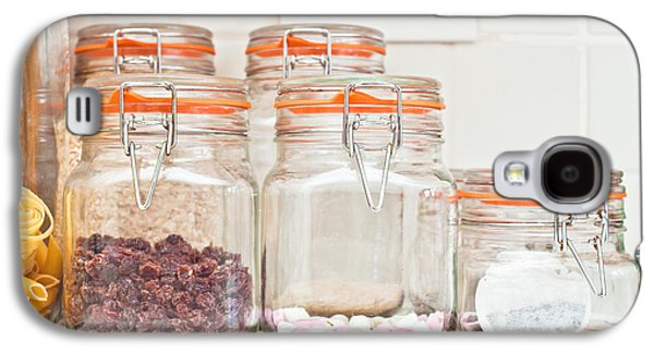 Candid Photographs Galaxy S4 Cases - Food jars Galaxy S4 Case by Tom Gowanlock