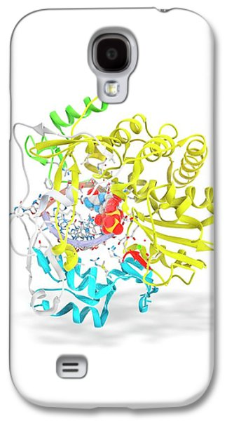 Foot-and-mouth Disease Virus Drug Complex Galaxy S4 Case by Ramon Andrade 3dciencia