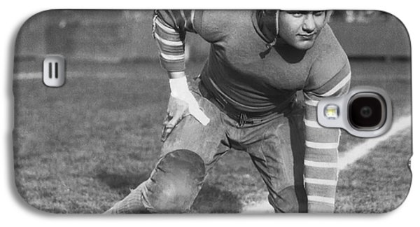 Football Fullback Player Galaxy S4 Case by Underwood Archives