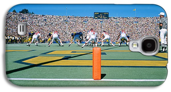 Football Game, University Of Michigan Galaxy S4 Case by Panoramic Images