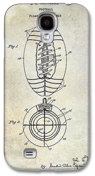 Recently Sold -  - Fantasy Photographs Galaxy S4 Cases - 1925 Football Patent Drawing Galaxy S4 Case by Jon Neidert