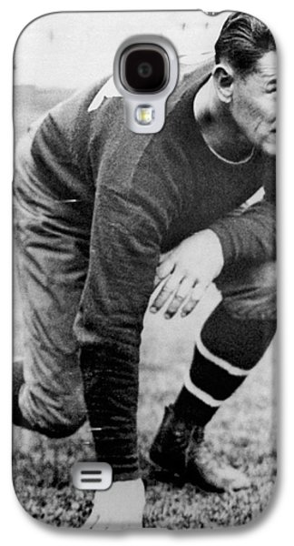 Football Player Jim Thorpe Galaxy S4 Case by Underwood Archives