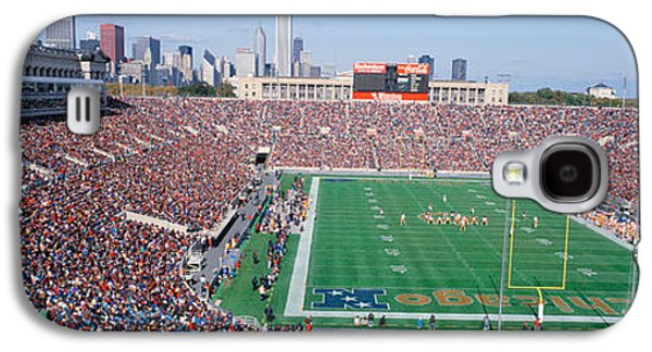 Soldier Field Galaxy S4 Cases - Football, Soldier Field, Chicago Galaxy S4 Case by Panoramic Images