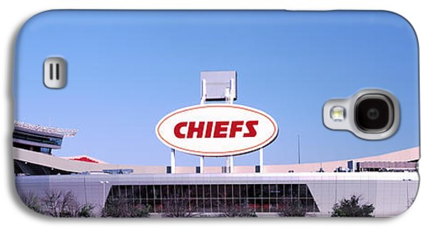 Sports Photographs Galaxy S4 Cases - Football Stadium, Arrowhead Stadium Galaxy S4 Case by Panoramic Images
