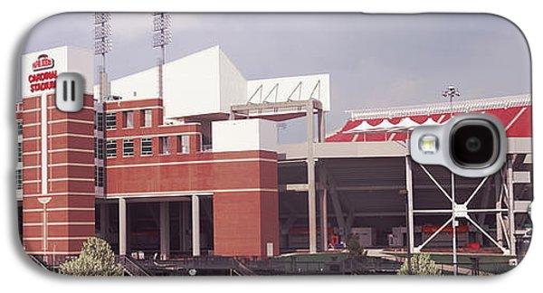 Papa Galaxy S4 Cases - Football Stadium, Papa Johns Cardinal Galaxy S4 Case by Panoramic Images