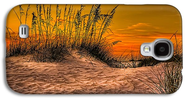 California Beach Galaxy S4 Cases - Footprints in the Sand Galaxy S4 Case by Marvin Spates