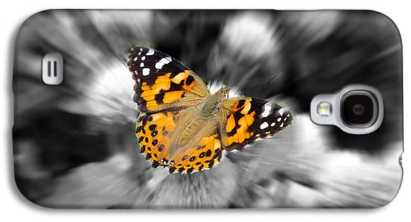 Abstract Nature Pyrography Galaxy S4 Cases - For the Abstract Lovers Galaxy S4 Case by Hannah Underhill