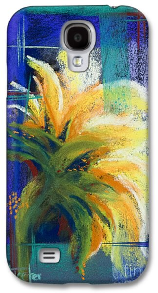 Red Abstract Pastels Galaxy S4 Cases - For Those Who Wait Galaxy S4 Case by Tracy L Teeter