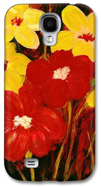 Floral Digital Art Galaxy S4 Cases - For You Galaxy S4 Case by Anastasiya Malakhova