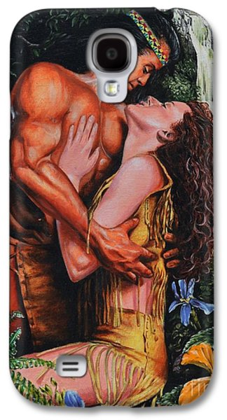 Novel Paintings Galaxy S4 Cases - Forbidden Romance Galaxy S4 Case by James Loveless