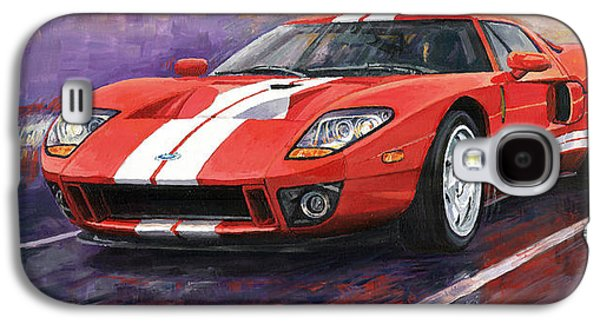 Automotive Galaxy S4 Cases - Ford GT 2005 Galaxy S4 Case by Yuriy  Shevchuk