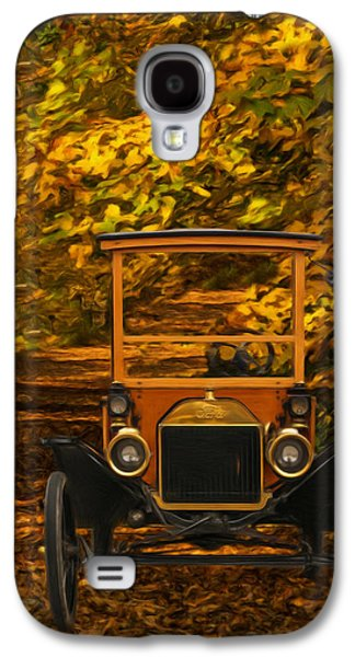 Ford Model T Car Galaxy S4 Cases - Ford Galaxy S4 Case by Jack Zulli