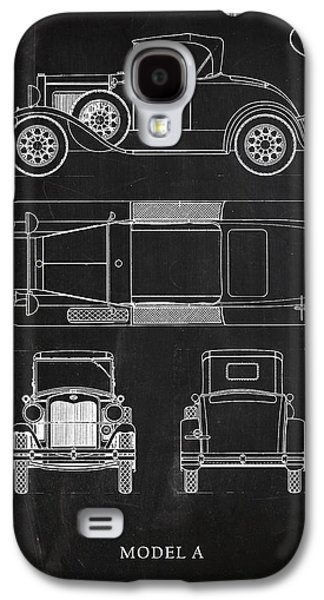 Ford Model T Car Galaxy S4 Cases - Ford Model A Galaxy S4 Case by Mark Rogan