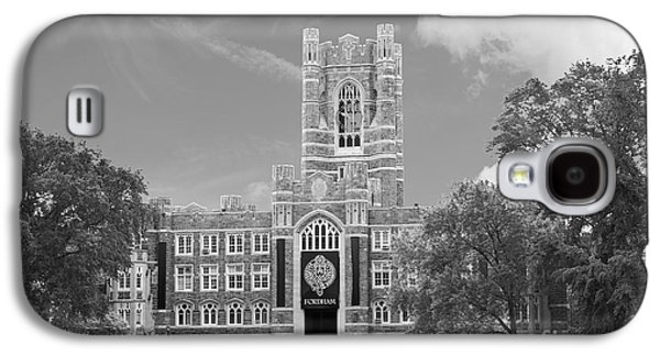 Collegiate Galaxy S4 Cases - Fordham University Keating Hall Galaxy S4 Case by University Icons