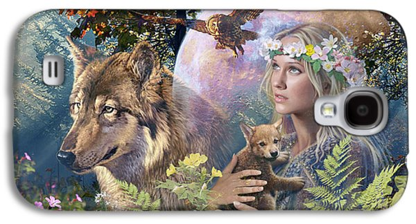 Fantasy Photographs Galaxy S4 Cases - Forest Friends Galaxy S4 Case by Steve Read