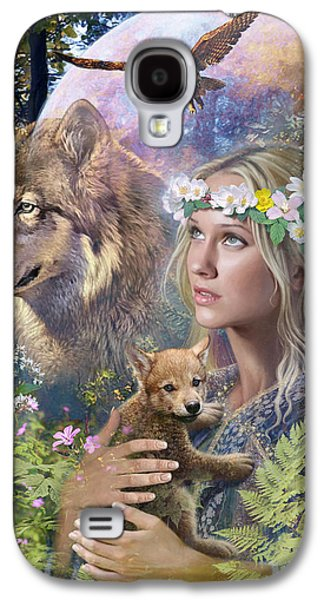 Fantasy Photographs Galaxy S4 Cases - Forest Friends Variant 1 Galaxy S4 Case by Steve Read