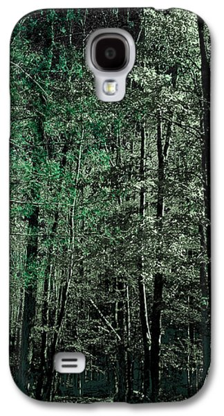 Surreal Landscape Galaxy S4 Cases - Forest Green Galaxy S4 Case by David Patterson