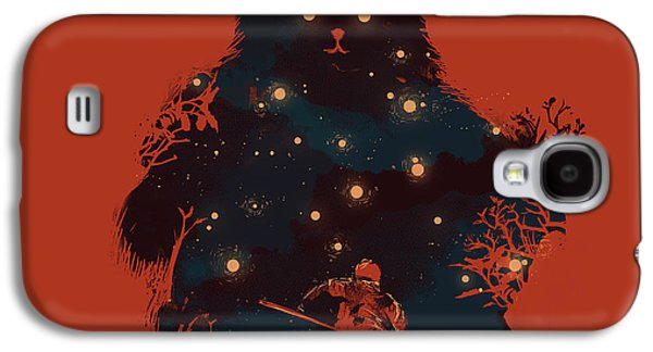 Monster Galaxy S4 Cases - Forest Guardian Galaxy S4 Case by Budi Satria Kwan