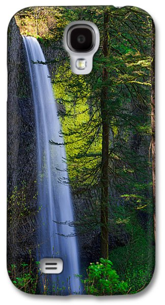 Pine Tree Galaxy S4 Cases - Forest Mist Galaxy S4 Case by Chad Dutson