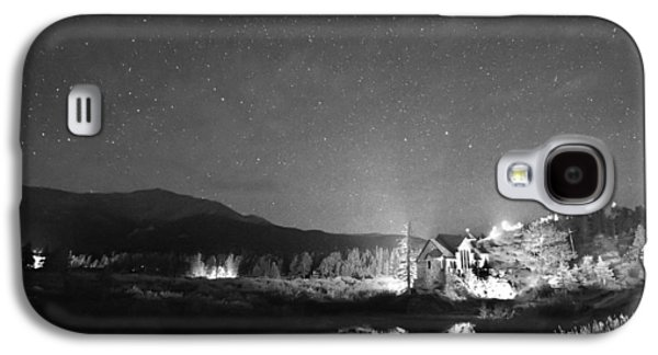 Catherine White Galaxy S4 Cases - Forest of Stars Above The Chapel on the Rock BW Galaxy S4 Case by James BO  Insogna