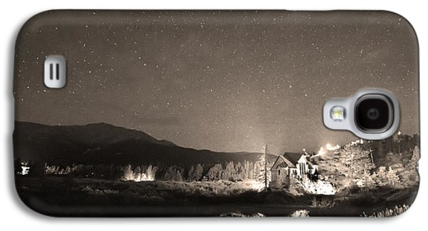 Catherine White Galaxy S4 Cases - Forest of Stars Above The Chapel on the Rock Sepia Galaxy S4 Case by James BO  Insogna