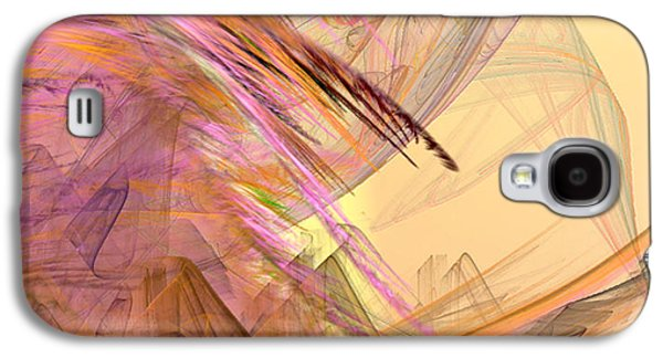 Abstract Digital Galaxy S4 Cases - Forest of the Fairies Galaxy S4 Case by Camille Lopez