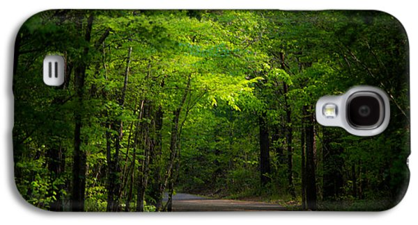 Jogging Galaxy S4 Cases - Forest Path Galaxy S4 Case by Parker Cunningham