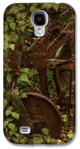 Shed Digital Art Galaxy S4 Cases - Forest Reclaimed Galaxy S4 Case by Jack Zulli