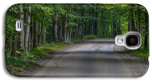 Path Galaxy S4 Cases - Forest Road Galaxy S4 Case by Sebastian Musial