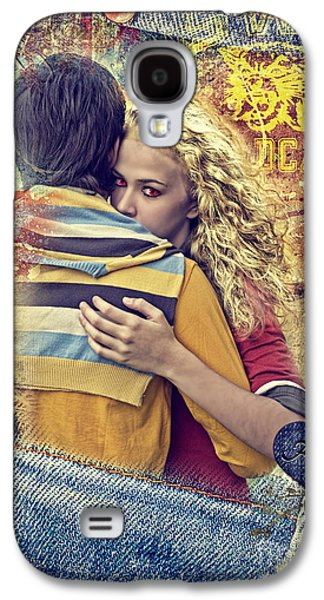 Photo Manipulation Galaxy S4 Cases - Forever Galaxy S4 Case by Mo T