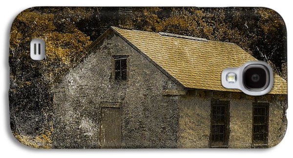Farm Raised Pigs Galaxy S4 Cases - Forgotten Barn Galaxy S4 Case by Marcia Lee Jones