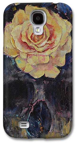 Gothic Paintings Galaxy S4 Cases - Forgotten Galaxy S4 Case by Michael Creese