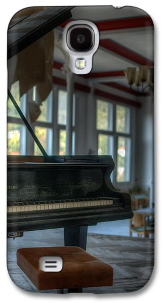 Haunted House Digital Art Galaxy S4 Cases - Forgotten Music Galaxy S4 Case by Nathan Wright